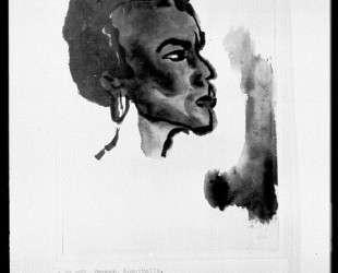 Portrait of South Sea Islander — Эмиль Нольде