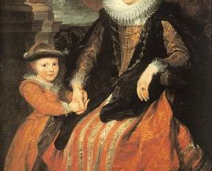 Портрет Сюзанны Фурмен и ее дочери — Антонис ван Дейк