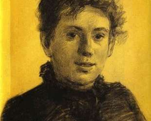 Portrait of Tatyana Tolstaya, Leo Tolstoy's Daughter — Николай Ге