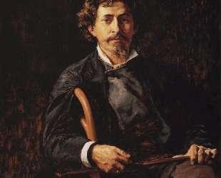 Портрет художника Ильи Ефимовича Репина — Василий Поленов