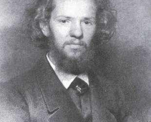 Portrait of the Artist Johann Gottlieb Wenig — Иван Крамской