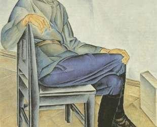 Портрет художника К. А. Вялова — Александр Дейнека