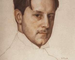 Портрет М. В.Добужинского — Константин Сомов