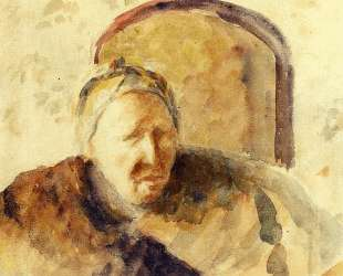 Portrait of the Artist's Mother — Камиль Писсарро