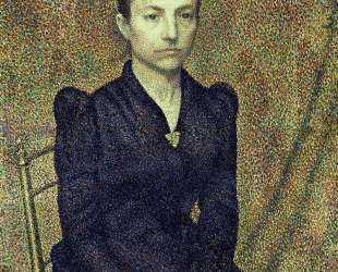 Portrait of the Artist's Sister — Жорж Леммен