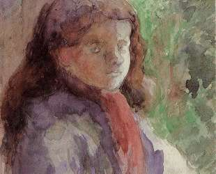 Portrait of the Artist's Son, Ludovic Rudolphe — Камиль Писсарро