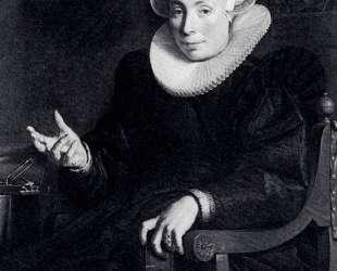 Portrait Of The Artist's Wife — Йоахим Эйтевал