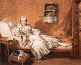 Портрет жены художника — Франсуа Буше