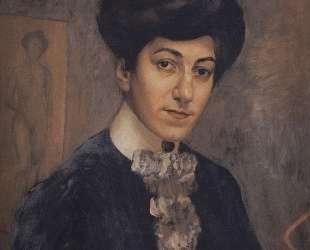 Портрет жены художника — Кузьма Петров-Водкин