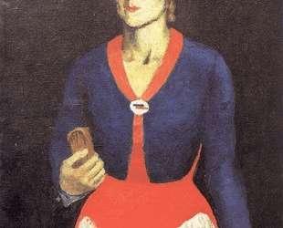 Портрет жены художника — Казимир Малевич