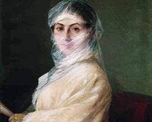 Портрет жены художника Анны Бурназян — Иван Айвазовский