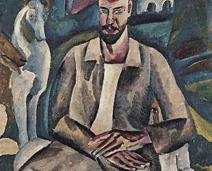 Портрет художника В. В. Рождественского — Пётр Кончаловский