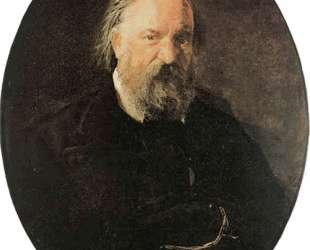Portrait of the Author Alexander Herzen — Николай Ге