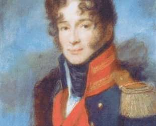 Portrait of the Commander of the Dragoon Regiment P. A. Chicherin — Алексей Венецианов