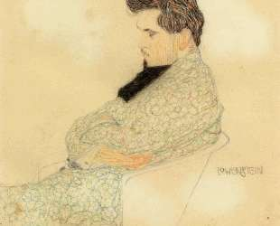 Portrait of the Composer Arthur Lowenstein — Эгон Шиле