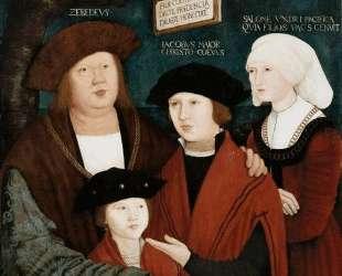 Portrait of the Cuspinian Family — Бернхард Штригель