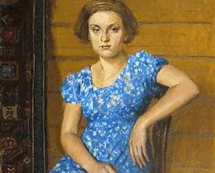 Портрет дочери — Игорь Грабарь