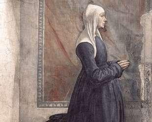 Portrait of the Donor Nera Corsi Sassetti — Доменико Гирландайо