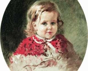 Портрет девочки Жени — Константин Маковский