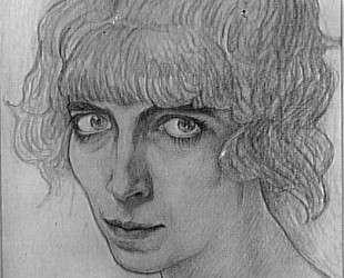 Портрет танцовщицы М. Казати — Леон Бакст
