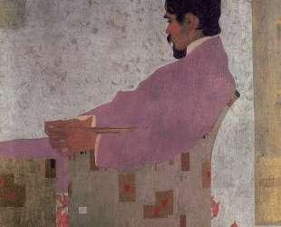 Portrait of the Painter Anton Peschka — Эгон Шиле