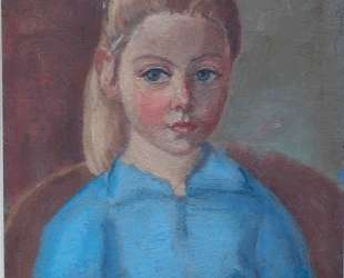Portrait of the painter's granddaughter Anne — Ян Слёйтерс