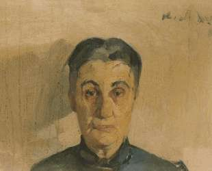 Portrait of the painter's mother — Николаос Литрас