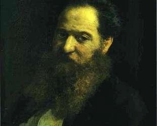 Portrait of the Physiologist Moriz Schiff — Николай Ге