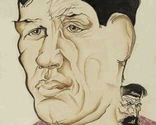 Портрет поэта Бориса Корнилова — Натан Альтман