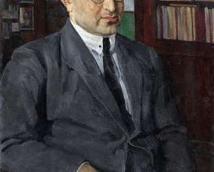 Portrait of the poet Grigory Shirman — Константин Юон