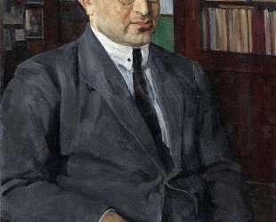 Portrait of the poet Grigory Shirman — Константин Юон