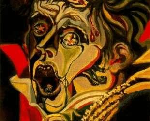 Portrait of the poet Kleist — Андре Массон