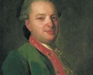Portrait of the Poet Vasily Maykov — Фёдор Рокотов