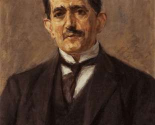 Portrait of the publisher Bruno Cassirer — Макс Либерман