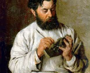 Portrait of the sculptor L. V. Posen — Николай Ярошенко