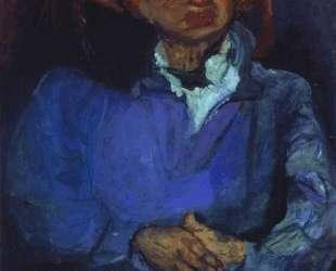 Portrait of the Sculptor, Oscar Miestchaninoff — Хаим Сутин