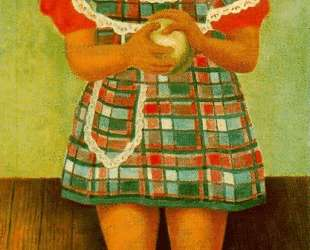 Portrait of the Young Girl Elenita Carrillo Flores — Диего Ривера
