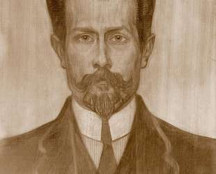 Portrait of Theo Neuhuys — Ян Тороп