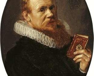 Portrait of Theodorus Schrevelius — Франс Халс