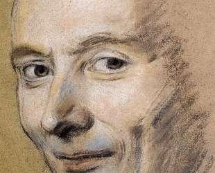 Portrait of unknown man — Морис Кантен де Латур