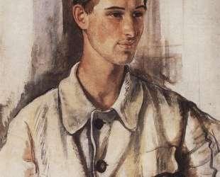 Портрет В. М.Дукельского — Зинаида Серебрякова