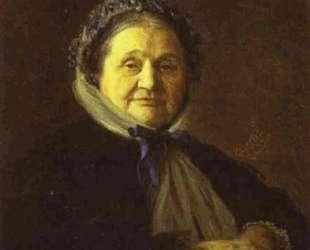 Portrait of V Voyeykova — Иван Крамской