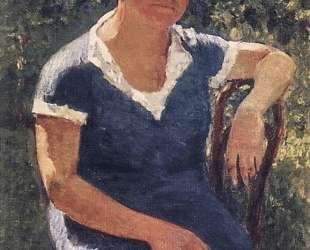 Портрет Валентины Михайловны Грабарь, жены художника — Игорь Грабарь