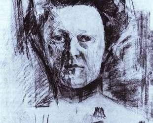 Portrait of Valentina Usoltseva, wife of the Doctor Usoltsev — Михаил Врубель
