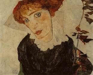 Portrait of Valerie Neuzil — Эгон Шиле