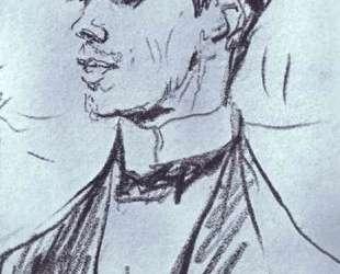 Портрет Вацлава Нижинского — Валентин Серов