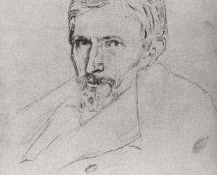 Портрет В. М. Васнецова — Архип Куинджи