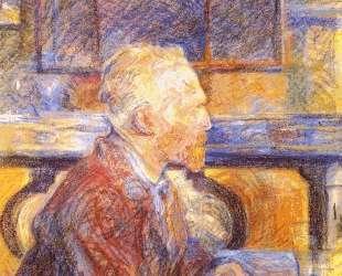 Portrait of Vincent van Gogh — Анри де Тулуз-Лотрек