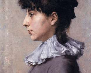 Portrait of Virginia Gerson — Уильям Меррит Чейз
