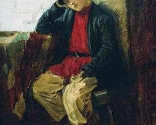 Портрет Владимира Егоровича Маковского в детстве — Константин Маковский
